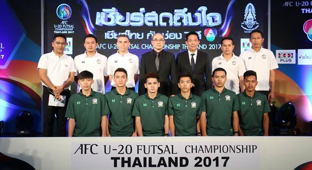 """ฟุตซอล ยู-20 ตั้งเป้าไปยูธโอลิมปิก รอคุยอนาคต """"มิเกล"""" หลังศึกเอเชีย"""