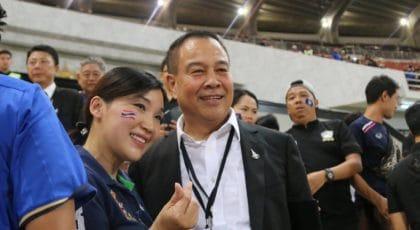 บิ๊กอ๊อด อัดฉีดทีมชาติไทย 3 ล้าน หลังเจ๊ายูเออี 1-1