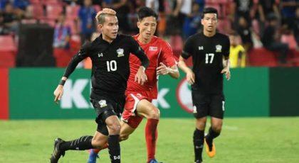 ไฮไลท์ฟุตบอล ทีมชาติไทย 3-0 เกาหลีเหนือ