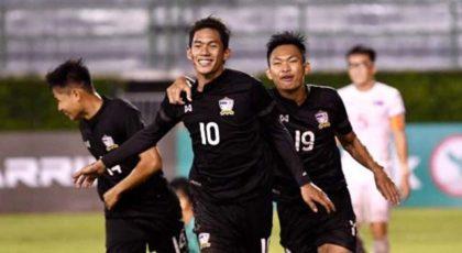 ไฮไลท์ฟุตบอล ทีมชาติไทย(U23) 1-1 มองโกเลีย(U23)