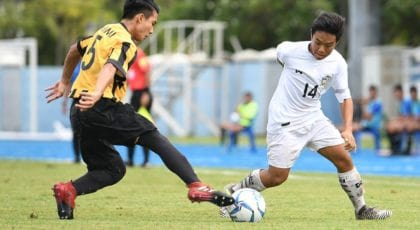 ปัณณวัชร์ กองกลางช้างศึกยู15 หวังคว้าแชมป์เพื่อเพื่อนที่เจ็บและไม่ได้ติดทีม