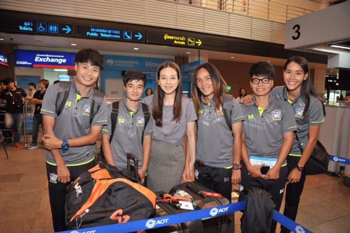 แข้งสาวไทย บินเก็บตัวญี่ปุ่น วางคิวอุ่น 3 เกมส์ ก่อนลุยซีเกมส์