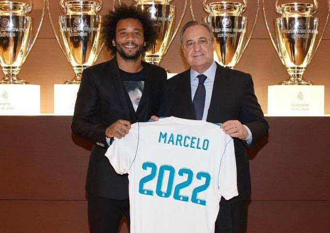 """อยู่ต่อไปยาวๆ! """"มาร์เซโล"""" ได้ขยายสัญญาฉบับใหม่ออกไปจนถึงปี 2022"""