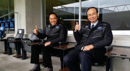 """""""สมยศ"""" บุกโอซาก้า ศึกษาการสร้างสนามฟุตบอล หวังระดมทุนเริ่มสร้าง 2019"""