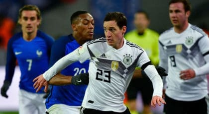 ไฮไลท์ฟุตบอล เยอรมนี 2-2 ฝรั่งเศส