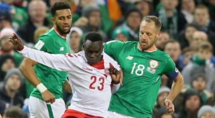 ไฮไลท์ฟุตบอล ไอร์แลนด์ 1-5 เดนมาร์ก