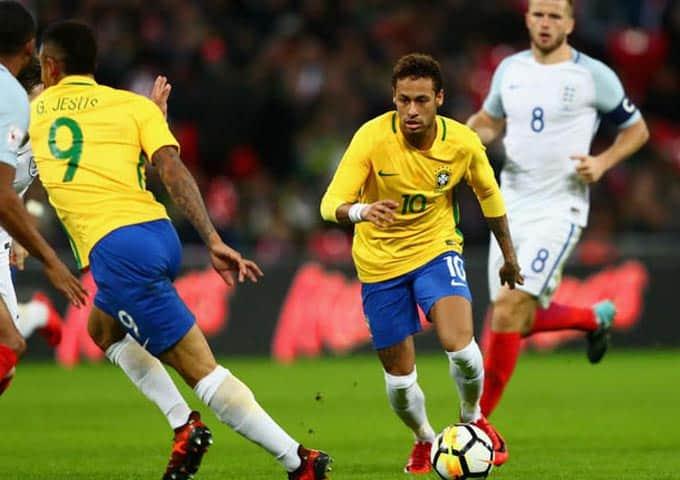 """""""เนย์มาร์"""" บอกว่าบราซิลได้พยายามทุกอย่างเพื่อต้องการเอาชนะอังกฤษ"""