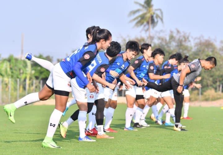 ฟุตบอลหญิงทีมชาติไทย ลงซ้อมต่อเนื่อง, สุนิสา เผยเป้าหมายเดียวคือไปฟุตบอลโลก