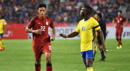 ไฮไลท์ฟุตบอล ทีมชาติไทย Vs กาบอง