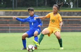 ชบาแก้ว U19 ไล่ไม่ทัน บุกพ่าย ทีมชาติออสเตรเลียหญิง U19 1-2 เกมอุ่นเครื่อง