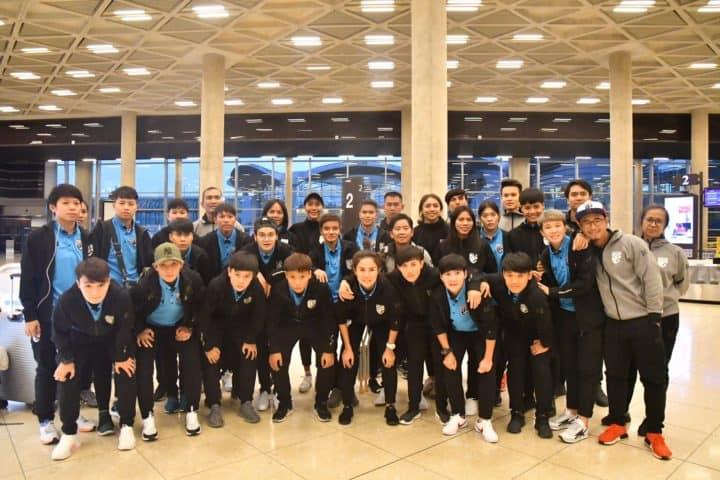 ฟุตบอลหญิงทีมชาติไทย เดินทางถึง จอร์แดน เตรียมลุยศึกฟุตบอลหญิงชิงแชมป์เอเชีย 2018